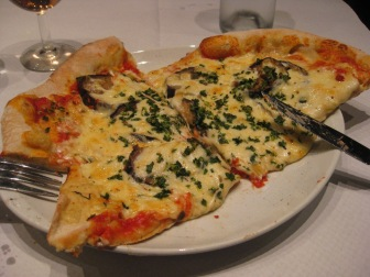 Aubergines on my pizza?  Yes please!
