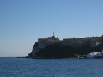 The fort and the museum on Ste Marguerite