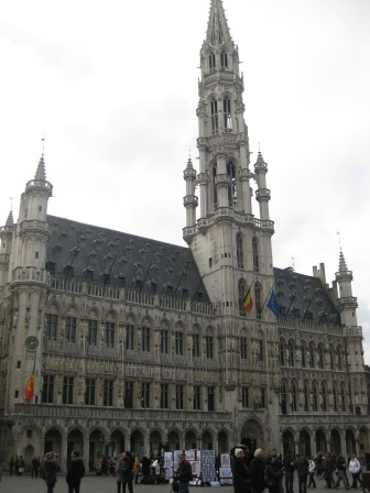 Grand place, the central square in Brussels