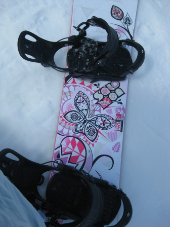 My cool snowboard...